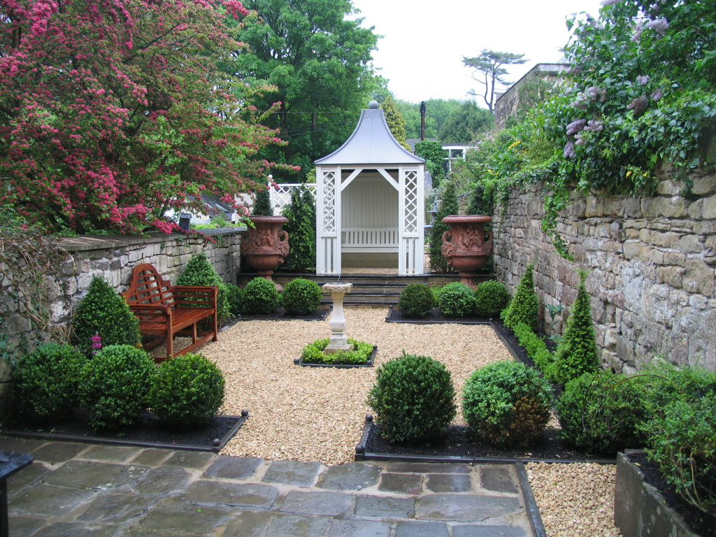 Landscaping for Georgian landscape design